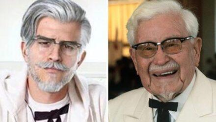 Знаменитый полковник изменил внешность, став моднее и привлекательнее