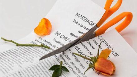 Супруга подала на развод, не дождавшись окончания медового месяца