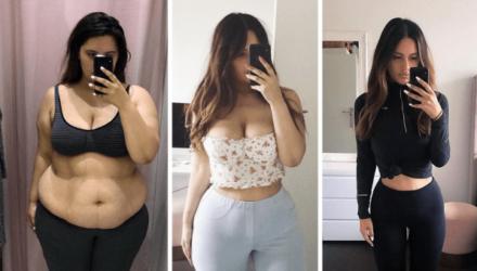 Девушка из Новой Зеландии за год похудела в 2 раза!