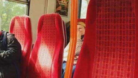 Пассажиры поезда случайно узнали много интересного про машиниста