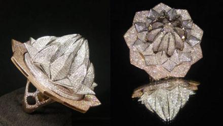 Кольцо, украшенное 7777 бриллиантами, попало в Книгу рекордов Гиннеса
