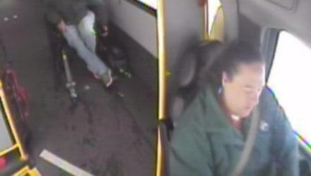 Слишком легко одетые дети пошли искать бабушку и были спасены водительницей автобуса