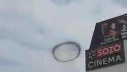 «Дьявольское кольцо», парящее в небе, оказалось вовсе не зловещим