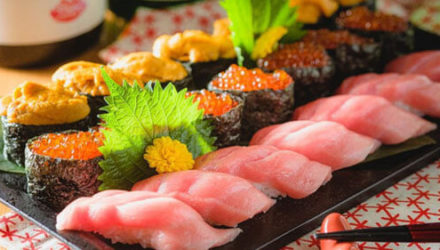 Суши на обед содержали шокирующий сюрприз
