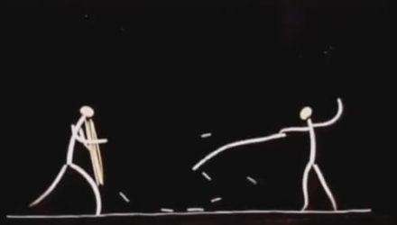 Шеф-повар стал автором анимационного фильма, сделанного из бобовых ростков