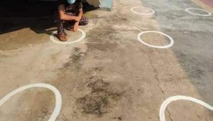 Не все круги, нарисованные для соблюдения социальной дистанции, оказались удобными