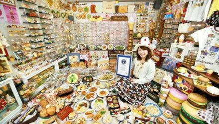 Собрав огромную коллекцию пластиковой еды, женщина попала в Книгу рекордов Гиннеса