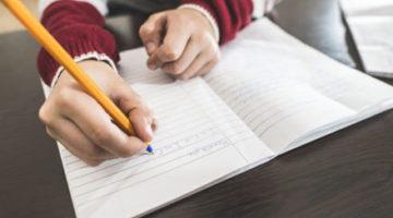 Нехорошее слово, написанное девочкой, оказалось следствием плохого почерка
