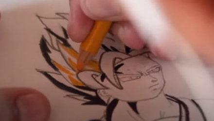 Подросток-аутист продаёт рисунки, чтобы помочь своей семье