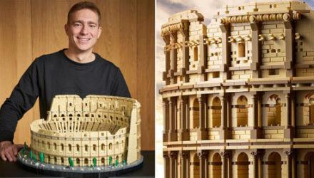 Конструктор в виде всемирно известного Колизея стал рекордным