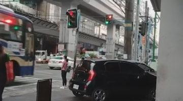 Диско-светофор смутил водителей и пешеходов